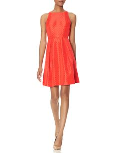 Jacquard Fit & Flare Dress | Women's Dresses | THE LIMITED