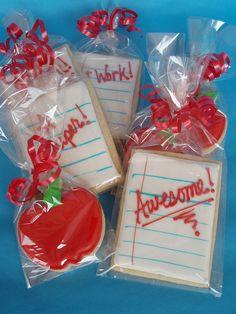 Teacher Cookies by CakesUniqueByAmy.com, via Flickr