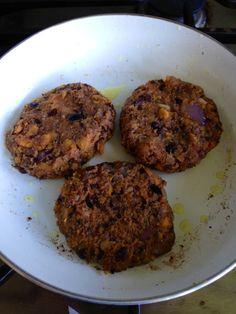 bbq sweet potato and black bean burgers - BeginWithin Nutrition