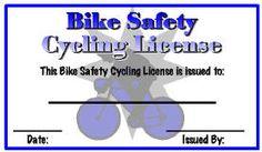 bike rodeo license