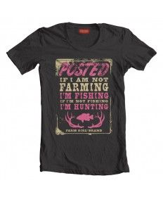 Farm Girl Fish & Hunt Missy Tee @A C DC Mashino -this ones great too!!!! farm girl, hunt, shirt