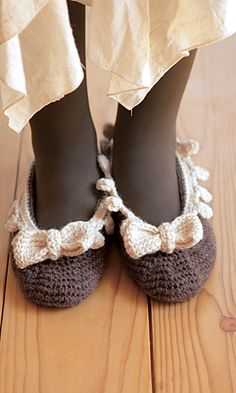 Charming Slippers: free chart/pattern