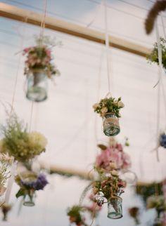 hanging flower vessels | aneta mak photography