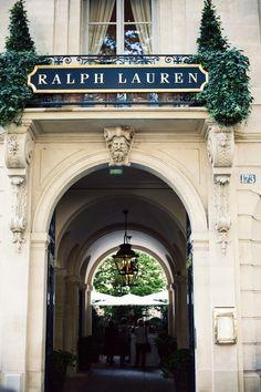 Ralph Lauren, Paris.