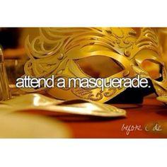 masquerade ball, bucketlist, buckets, dream, die, mask, prom themes, masquerades, bucket lists