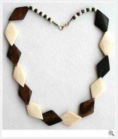 Designer Bone Necklace