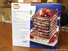 9-Layer No-Bake Matzo Cake   Cooking On the Side