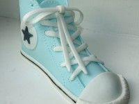 Fondant Converse sneaker shoe