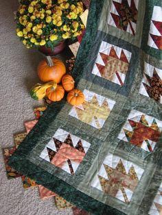 Autumn-y quilt