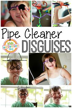 Pipe Cleaner Disguises - Kids Activities Blog