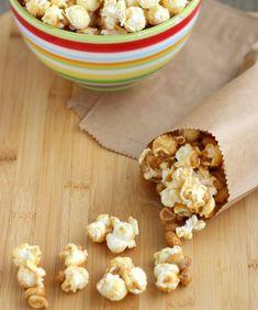 Gluten-Free Peanut Butter & Honey Popcorn