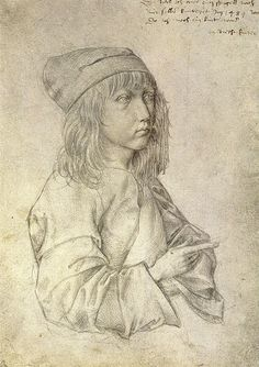 Albrecht Dürer: Self-portrait at 13 years