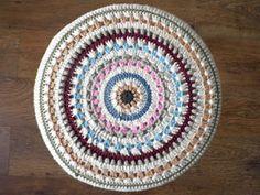 Crochet stool cover pattern