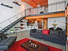 Expansive VOLUME, 18 ft ceilings - Gorgeous concrete floors, Ste