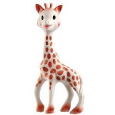 The quintessential teether...Sophie the giraffe. PVC free and fun to chew on.