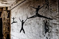On a wall at an abandoned Methodist church, Gary, IN. Photographer: Viki Gonia