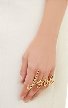 Lanvin LOVE ring