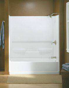 Small Soaking Tub Shower Combo Reviews Bathrooms Pinterest