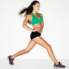 LOSE LEG FAT; LEARNER LEGS, TIGHTER BUTT - Get a bangin' lower body with these two fat-melting, muscle-sculpting routines