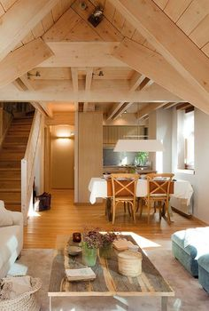 Attic-Interior-Design-Small-Cottage-Sweet-Life-01...I love this one...more interior pictures at the link.
