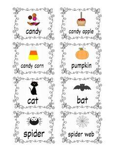 halloween words beginning with z