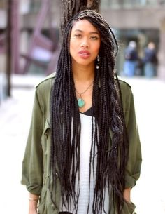 box braids via: Fyeahblackbeauty