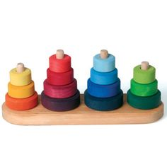 Fabuto Color Stacking Towers