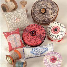 Vintage Pincushions ePattern: $8.99