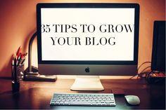 Blogging tips: 35 ti