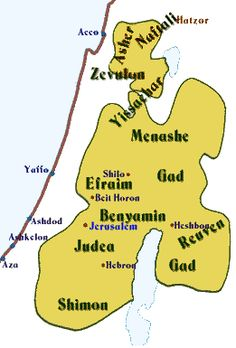 Lost Tribes of Israel  Jacob had 12 sons. Each of these sons formed a tribe in Israel: Reuben, Shimon, Levi, Judah, Issachar, Zebulun, Dan, Naphtali, Gad, Asher, Joseph, and Benjamin. Known to history as the 12 Tribes of Israel, these tribes settled on both sides of the Jordan River.  After the death of King Solomon, the  Hebrew nation split into two kingdoms.   Where are they now?  Read more at  http://www.bibleprobe.com/lost.htm