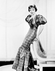 Claudette Colbert~~ 1930's  Remains the only actress in history to star in three films nominated for Best Picture Academy Awards in the same year (1934): Cleopatra, Imitation of Life and It Happened One Night