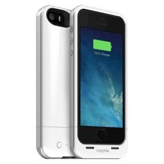 mophie Juice Pack Air 1700mAh for iPhone 5/5s – White