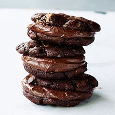 Triple-threat Chocolate Cookies