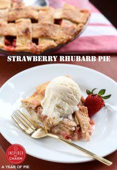A Year of Pie: Strawberry Rhubarb Pie