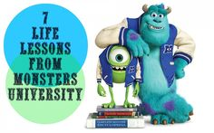 7 Life Lessons from Monsters University