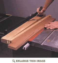Tablesaw Taper Jig