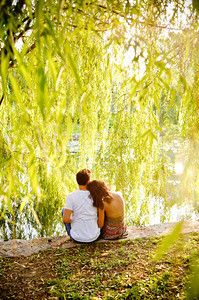 engagement pictures, weeping willow, football stadiums, engagement shots, engagement pics, engagement photo shoots, engagement photos trees, willow tree, engag photo