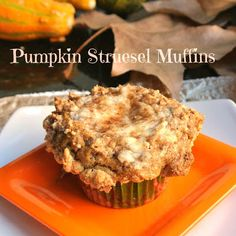 Pumpkin Struesel Muffins