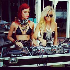 The twins djs #music #djs #EDM