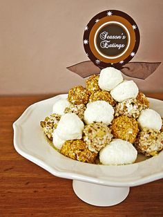 White Chocolate Truffles - 40 Homemade Holiday Food Gift Recipes  on HGTV