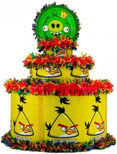 World of Pinatas - Angry Birds Pinata, $27.99 (http://www.worldofpinatas.com/angry-birds-pinata/)