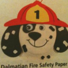 Dalmation Fire Dog from Oriental Trading