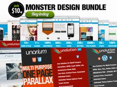 ($10.00) $400 worth of Premium Wordpress Theme, HTML5 Themes (Incl. One Page Parallax HTML5 Theme), Prestashop Theme, PSD Themes and Web elements. What