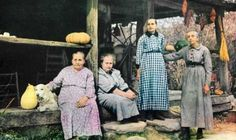 The Walker Sisters kept their way of primitive living until the last one died in the 1960's. You may visit their cabin in the Great Smoky Mountain National Park after a short hike. God bless their memory.
