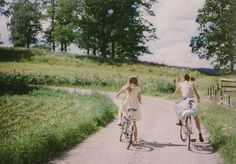 Cycling girls bicycles, memori, friends, country roads, early mornings, back roads, bike rides, ride a bike, summer