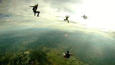 #sky diving #gif #sky
