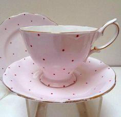 Royal Albert 1950's tea time, tea sets, polka dots, china teapots, tea cup, teacup