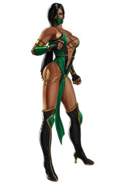 Jade (from Mortal Kombat) - Although she is not a REAL person, Jade has always been my favorite character from the MK game series. I love her because not only is she one of the only people of color in the series, she is also devoted to Kitana (her best friend) and Edenia (her homeland), her fatalities are TO DIE FOR and her outfits are SALACIOUS! Her body has made me step my game up! I want pixels like that when I grow up! LMAO!