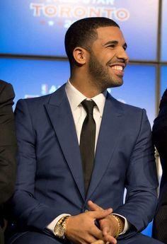 Drake's smile
