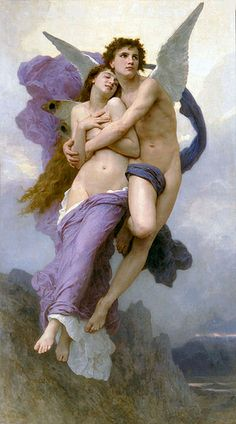 Rapture of Psyche by Bouguereau by New Visions2010, via Flickr